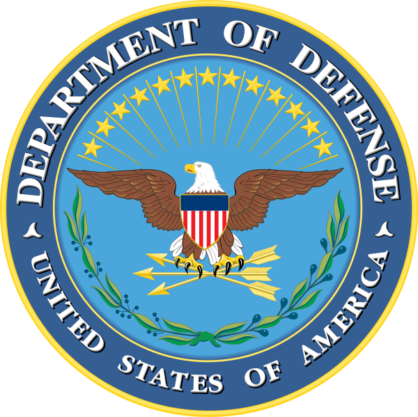 Dod seal png. File wikimedia commons dodsealpng