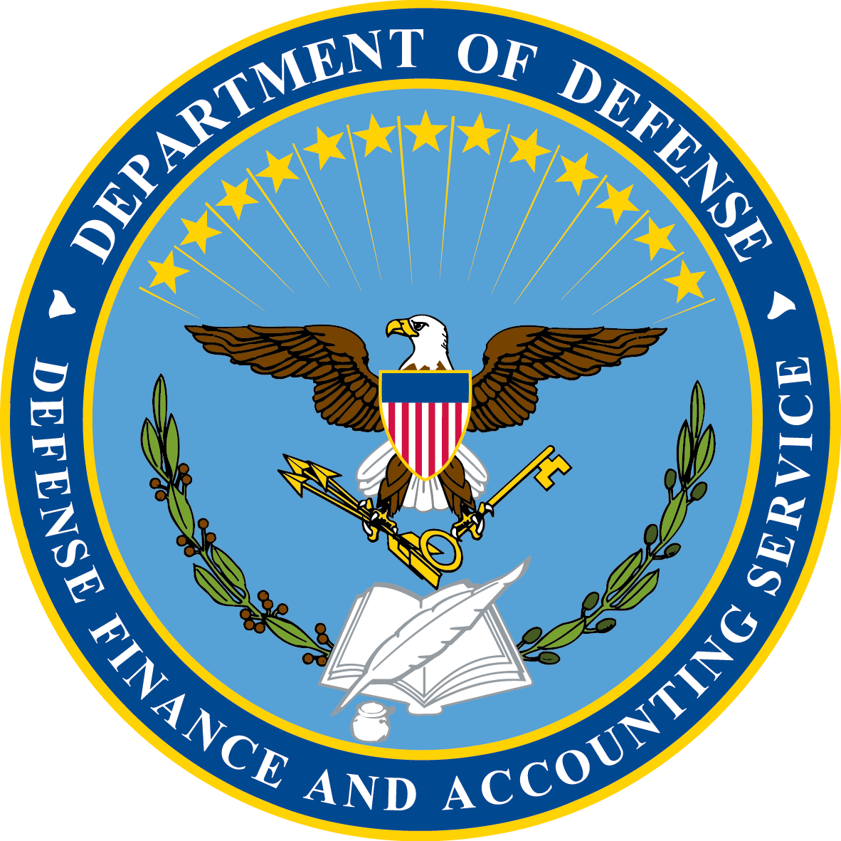 Dod seal png. Link the various components