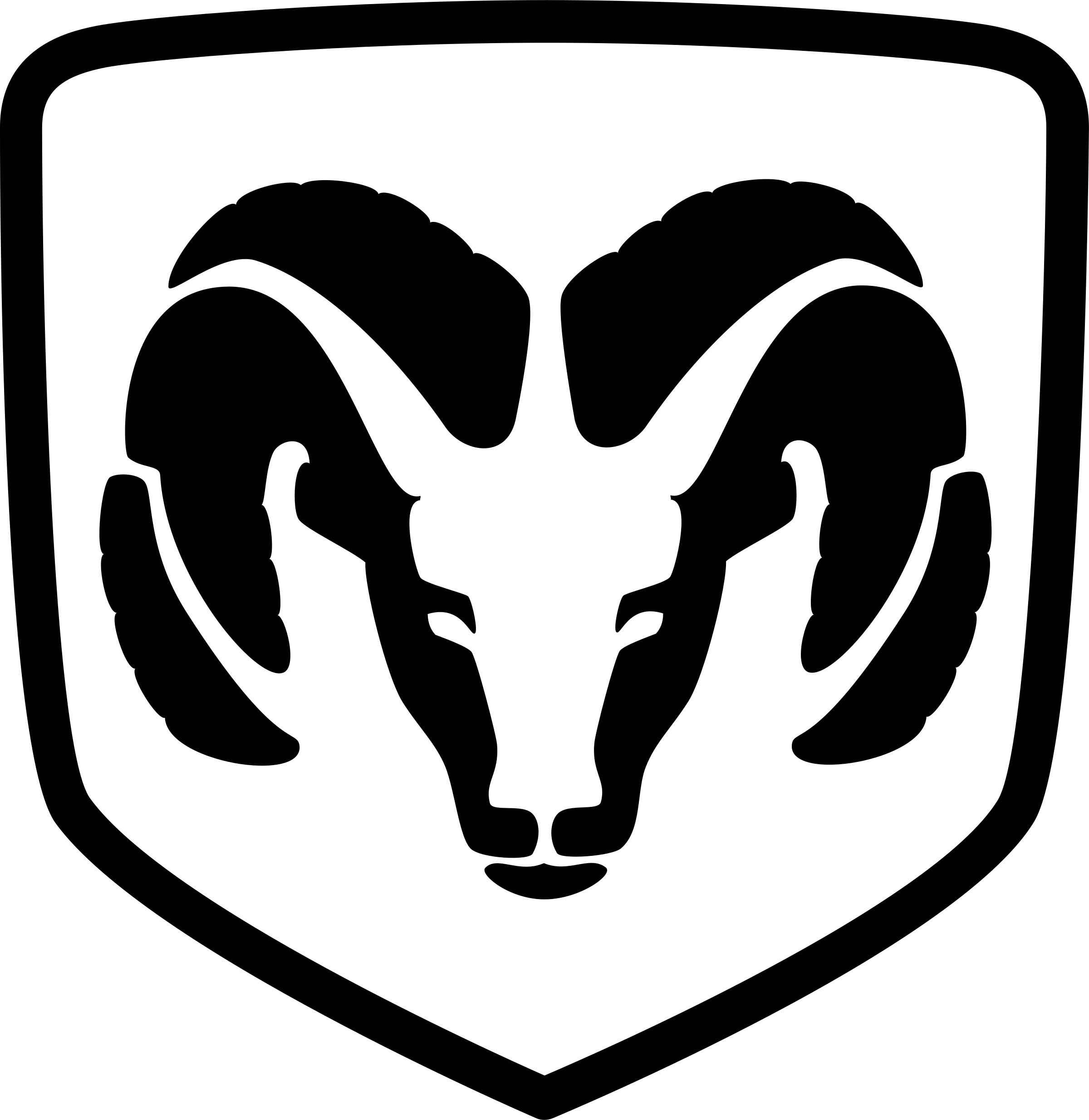 Aries vector black and white. Dodge ram logo png
