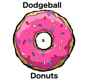 Dodgeball clipart pink. And donuts