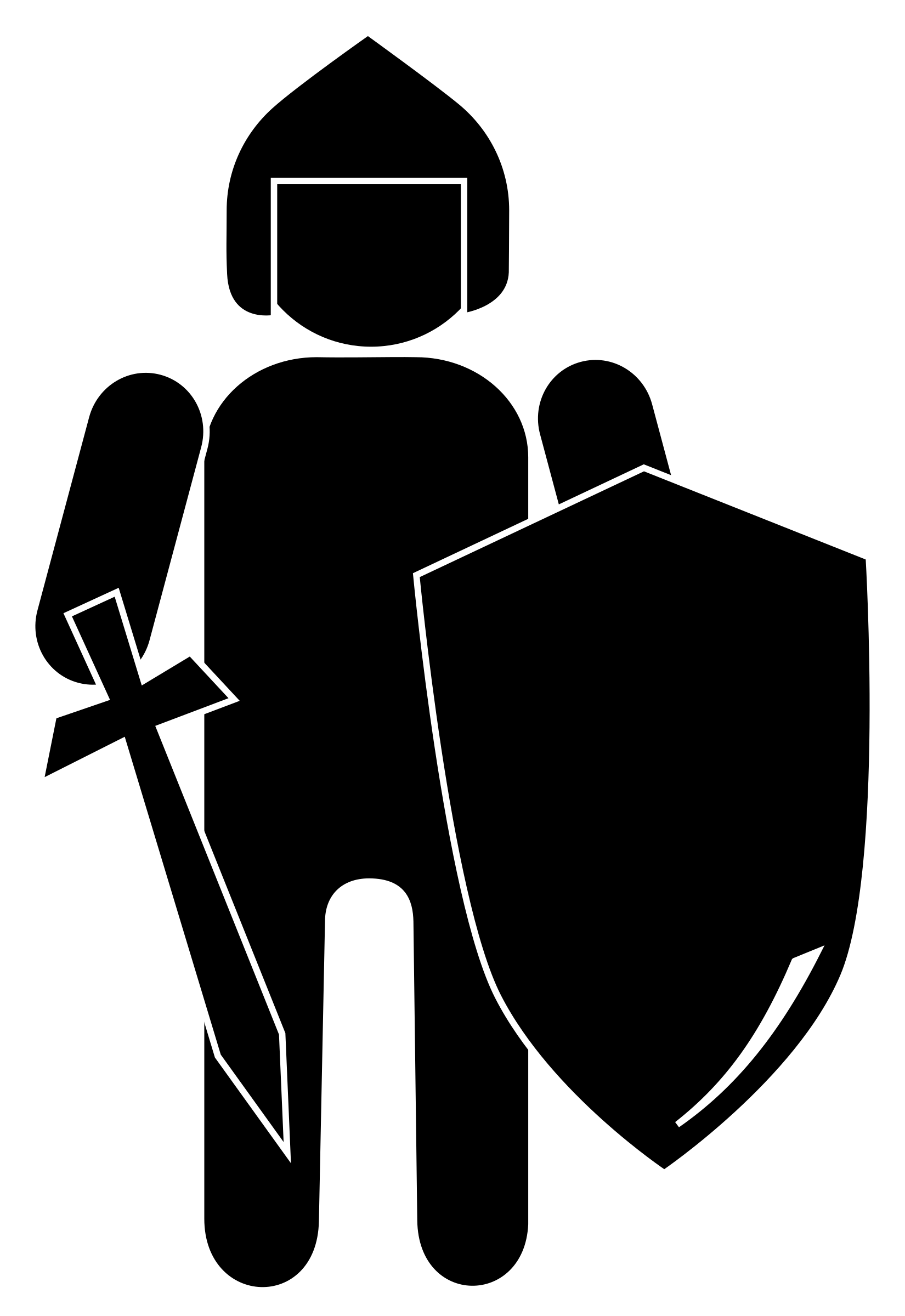 Knights vector knight riding horse. Shield clipart silhouette free