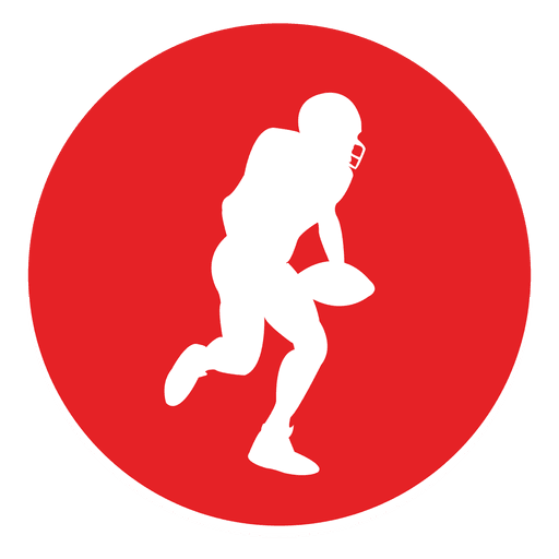Rugby sport circle icon. Dodgeball vector svg clip library download
