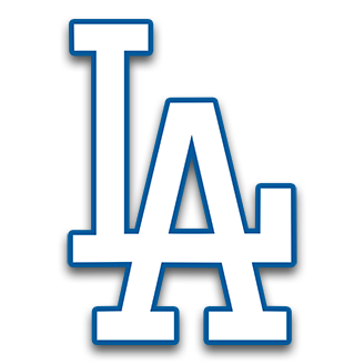 Image result for cinco. Dodgers drawing image transparent library