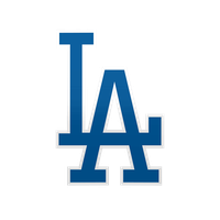 Los angeles news schedule. Dodgers drawing loco image royalty free stock