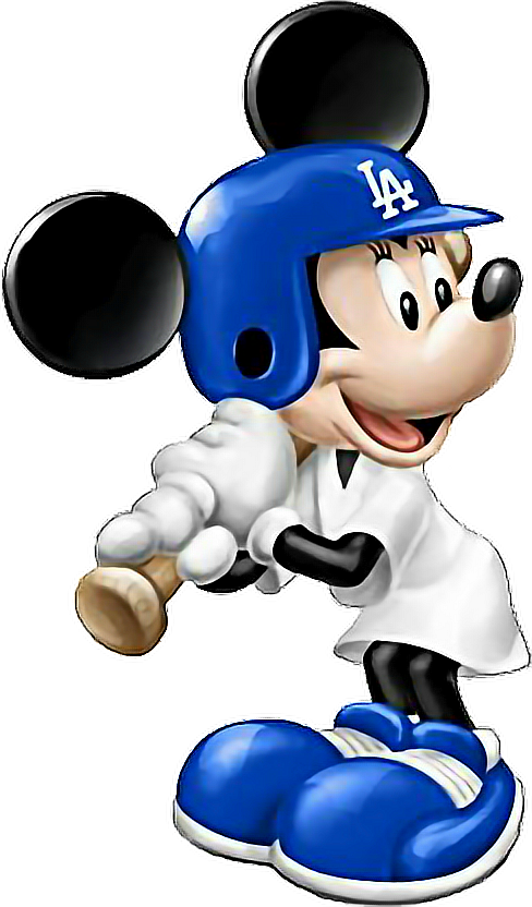 Dodgers drawing mickey mouse. Mickeymouse sticker by angie