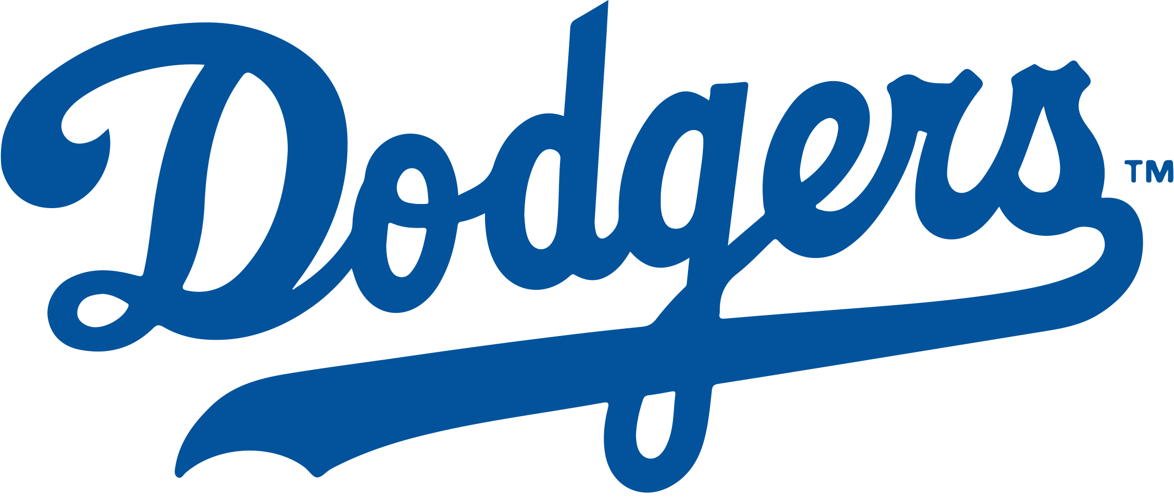 Brooklyn los angeles chicago. Dodgers drawing vector freeuse download