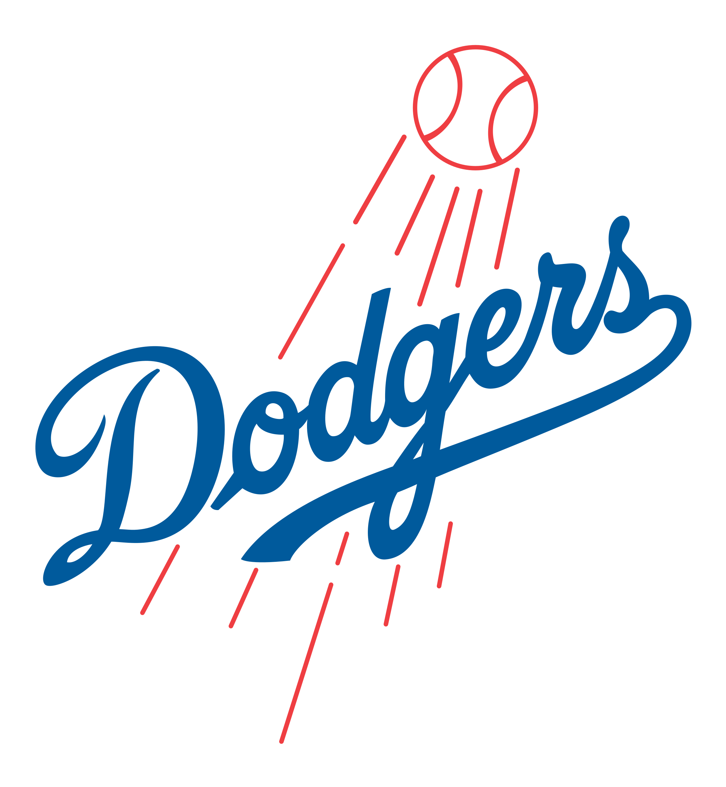 Los angeles logo png. Dodgers vector image library library