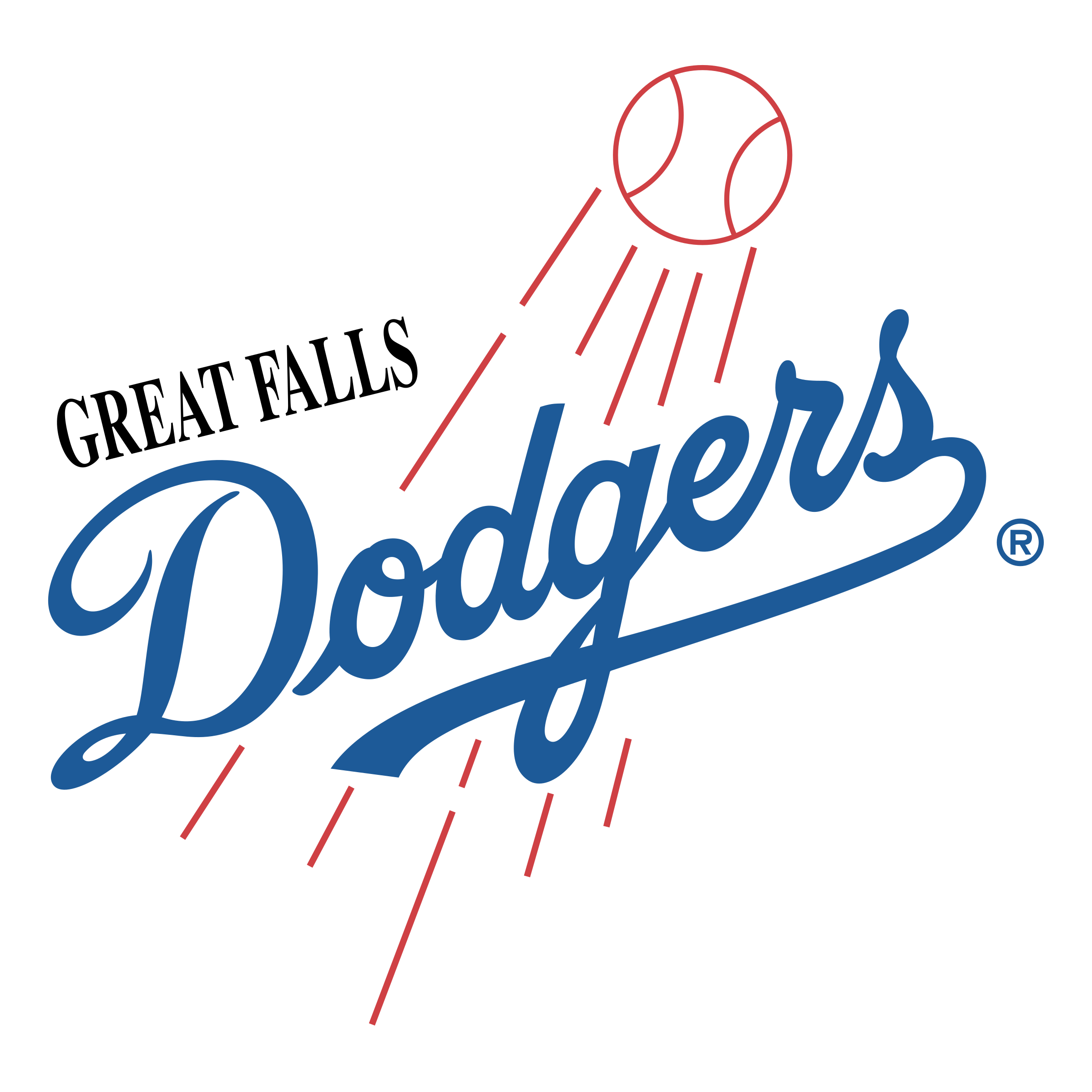Great falls logo png. Dodgers svg thank you graphic transparent library
