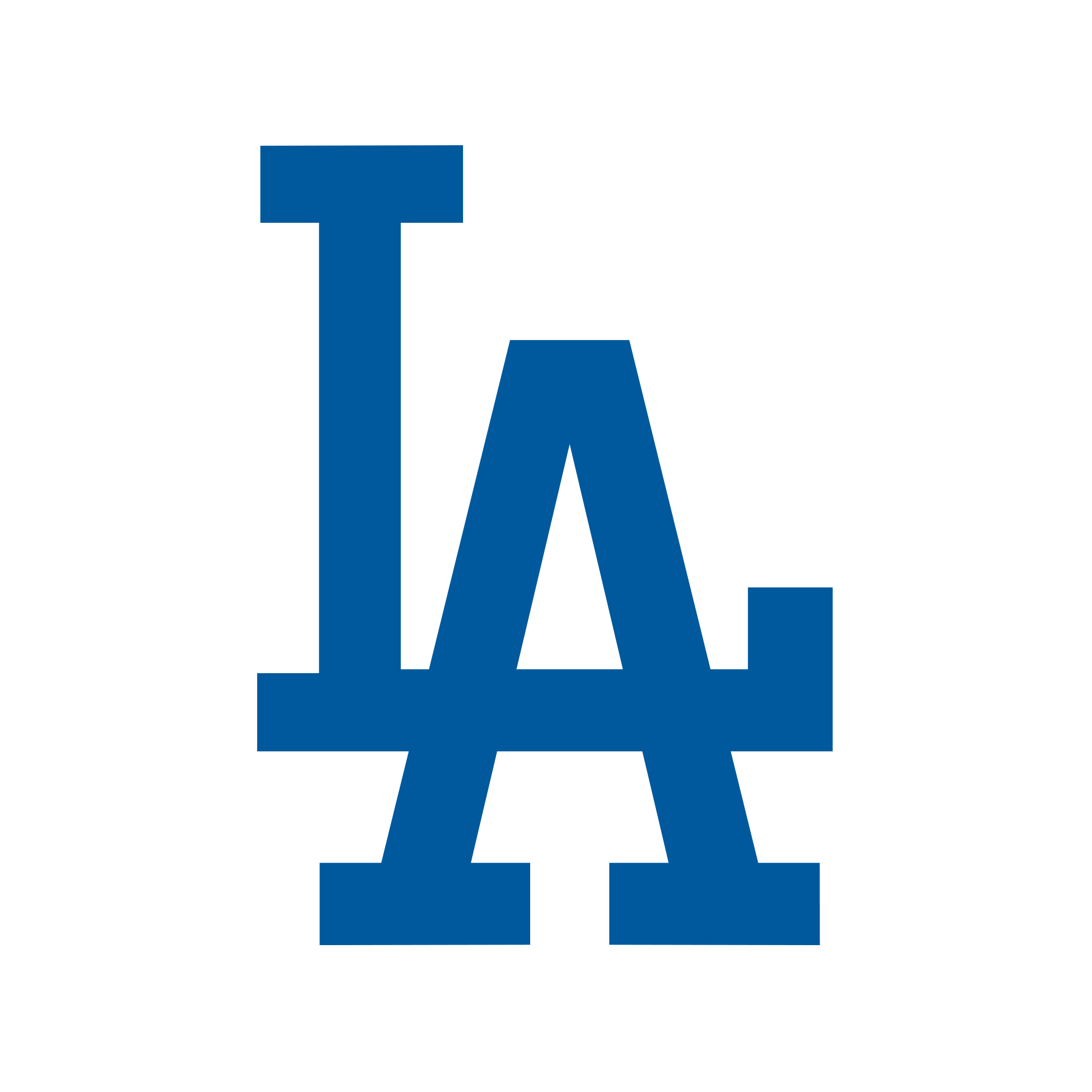 Cards continue to rule. Dodgers vector banner royalty free