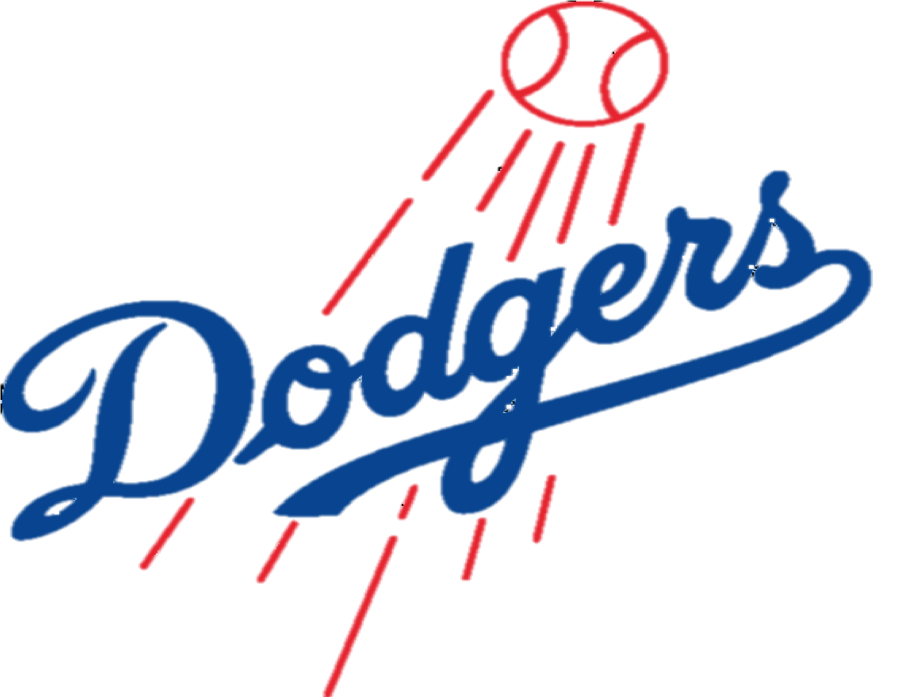 Dodgers vector drawing. Los angeles logos png vector transparent