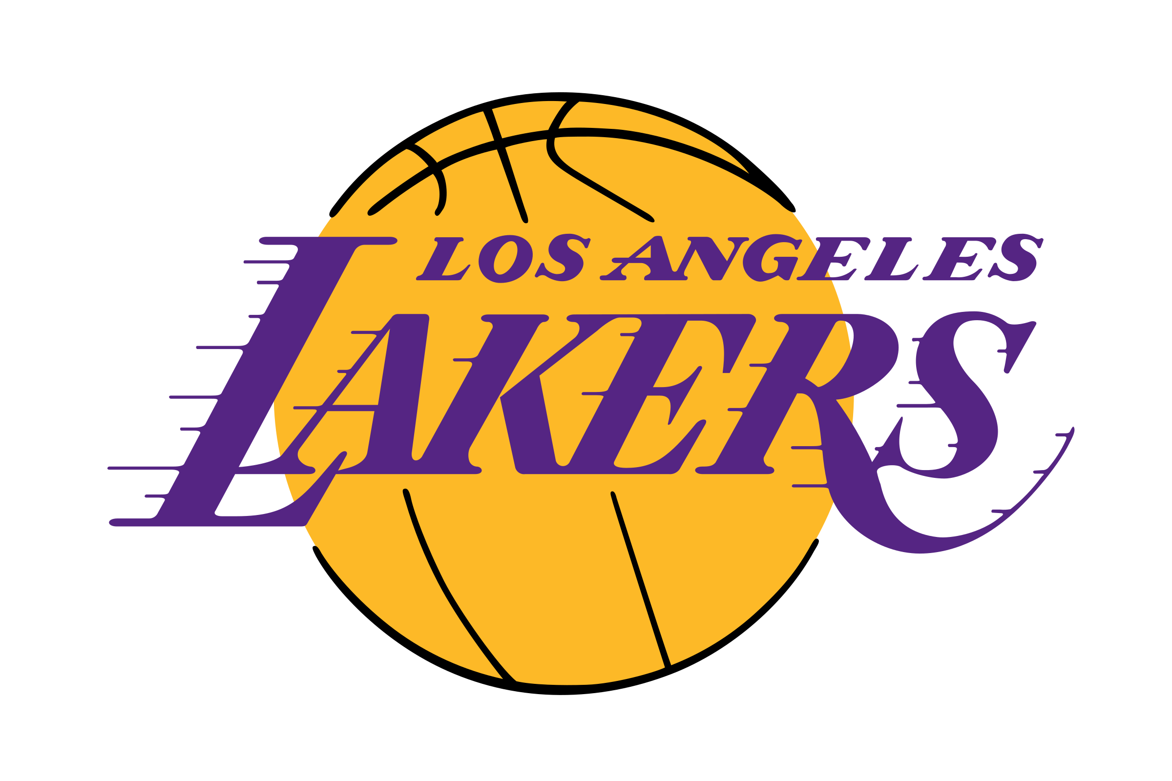 Dodgers svg small. Los angeles lakers logo