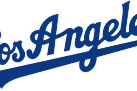 Dodgers vector official. Los angeles logo png banner free library