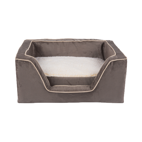 Dog bed png. Luxury square with memory