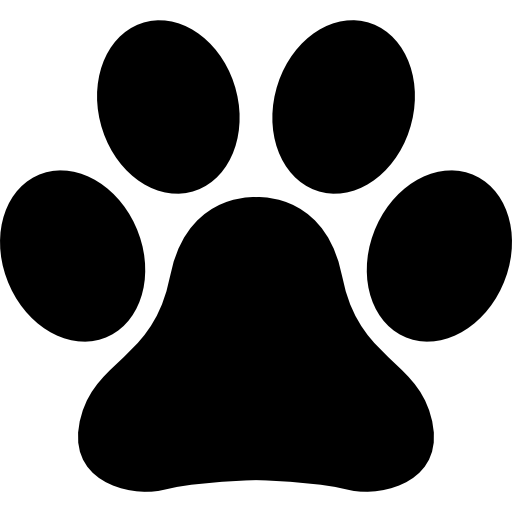 Pawprint svg cat. Animals icons free files