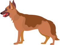 Dog clip art. Free clipart pictures graphics