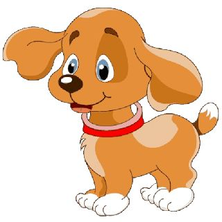 Dog clip art clear background. Best cartoon images