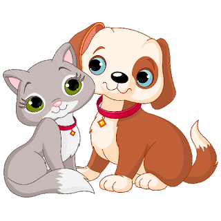 Cat and cartoon images. Dog clip art clear background clipart freeuse library