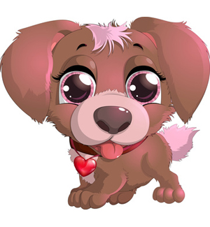 Dog clip art cute. Clipart puppy face with