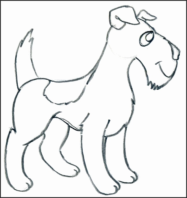 Dog clip art easy. Drawing at getdrawings com