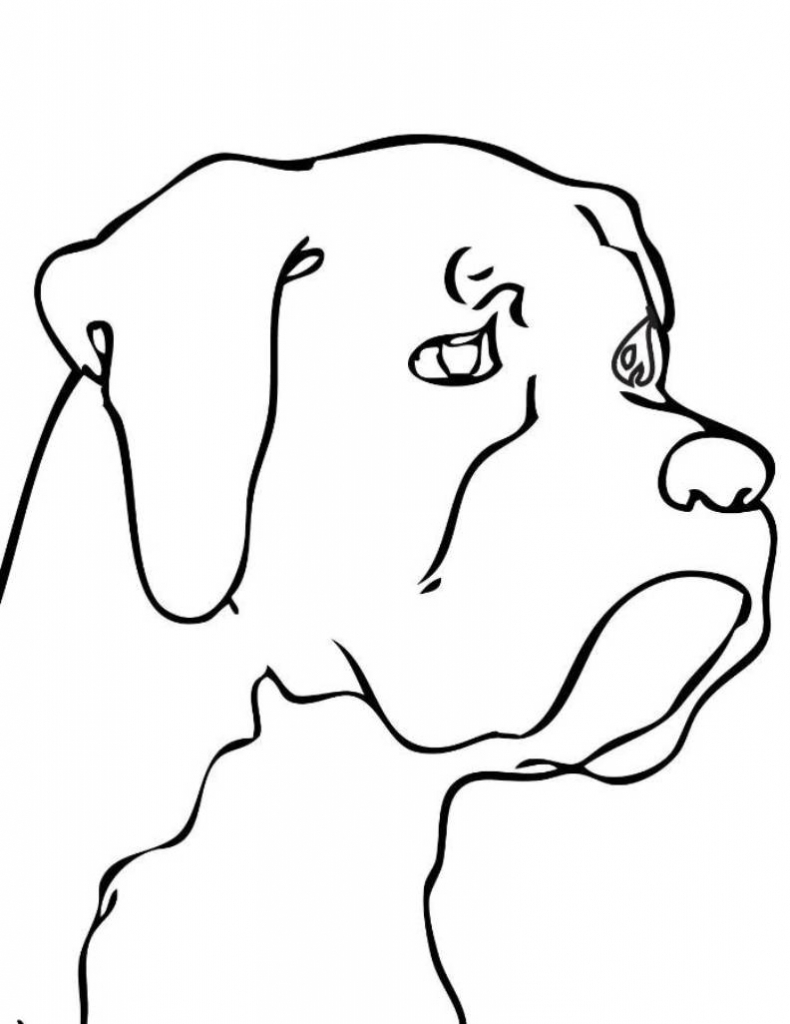 Dog clip art easy. Drawings head clipartsco drawing