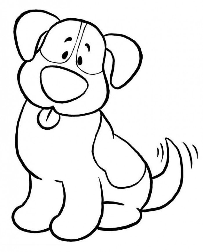 Simple drawing at getdrawings. Dog clip art easy picture free library