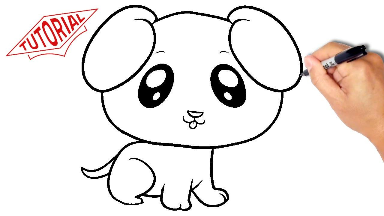 Dog clip art easy. To draw face clipart