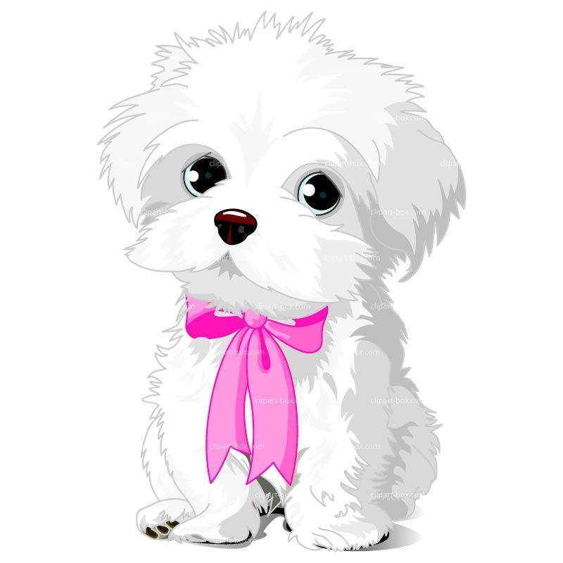 Dog clip art female dog. Clipart puppy royalty free