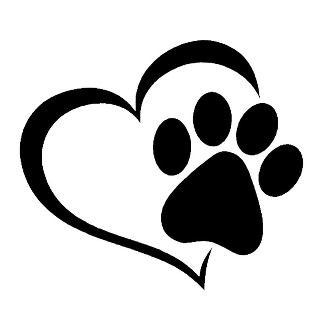 Dog clip art paw print. Animated jokingart com clipart