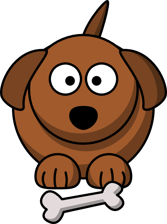 Dog clip art pet. Cartoon animal redonkulous clipart