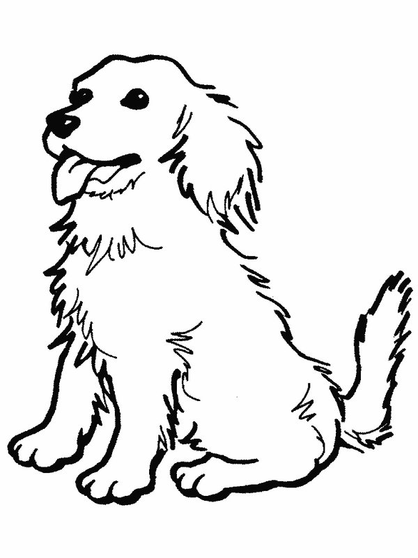 Dog clip art printable. Bold ideas dogs coloring