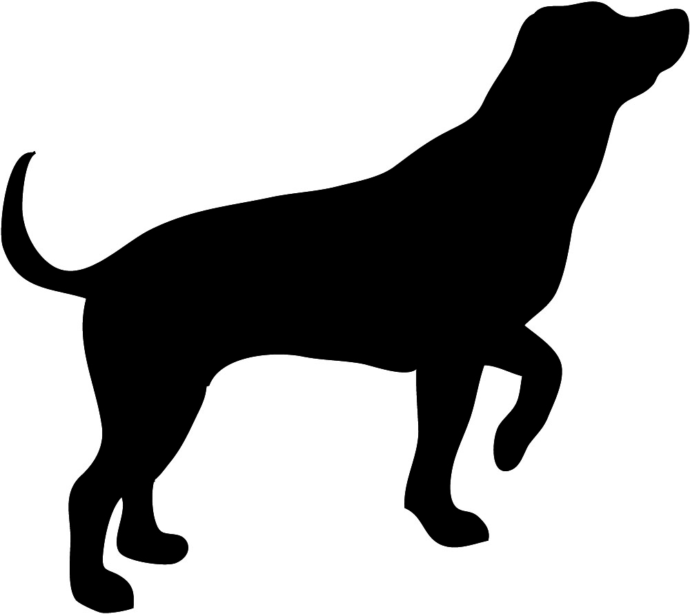 Hunting jpg clipart . Dog clip art silhouette picture black and white library