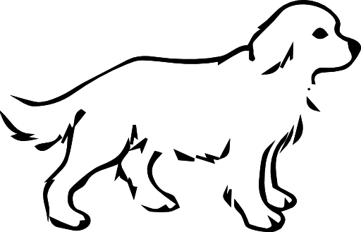 Clipart z coloring page. Dog clip art pop art image transparent library