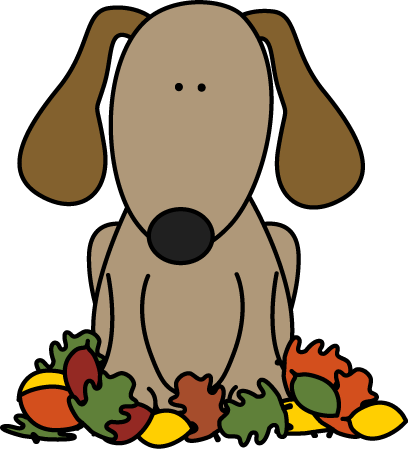Clip art images dog. Fall clipart clip art transparent library