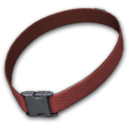 Dog collar png. Image red the hunter
