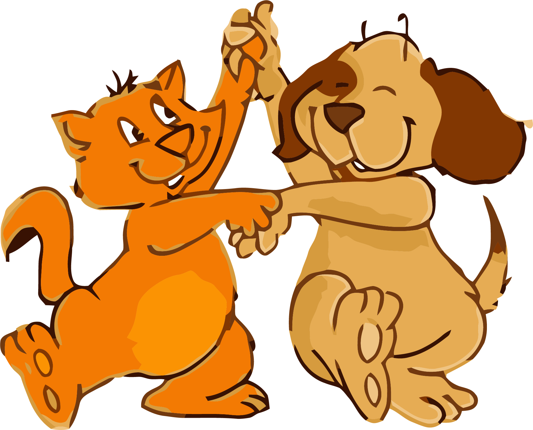 Dog dancing png. Cat and dance clipart
