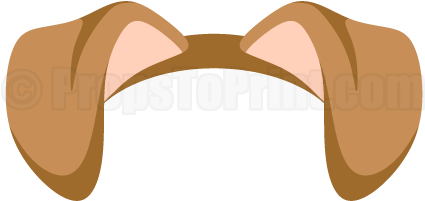 Download puppy clipart printable. Dog ears png jpg black and white stock