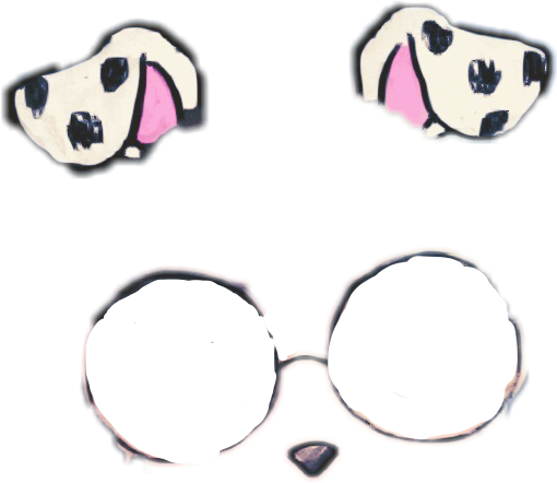 Dog filter png. New sticker dogsticker dogfilter