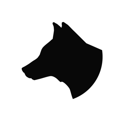 Dog head silhouette png. Images at getdrawings com