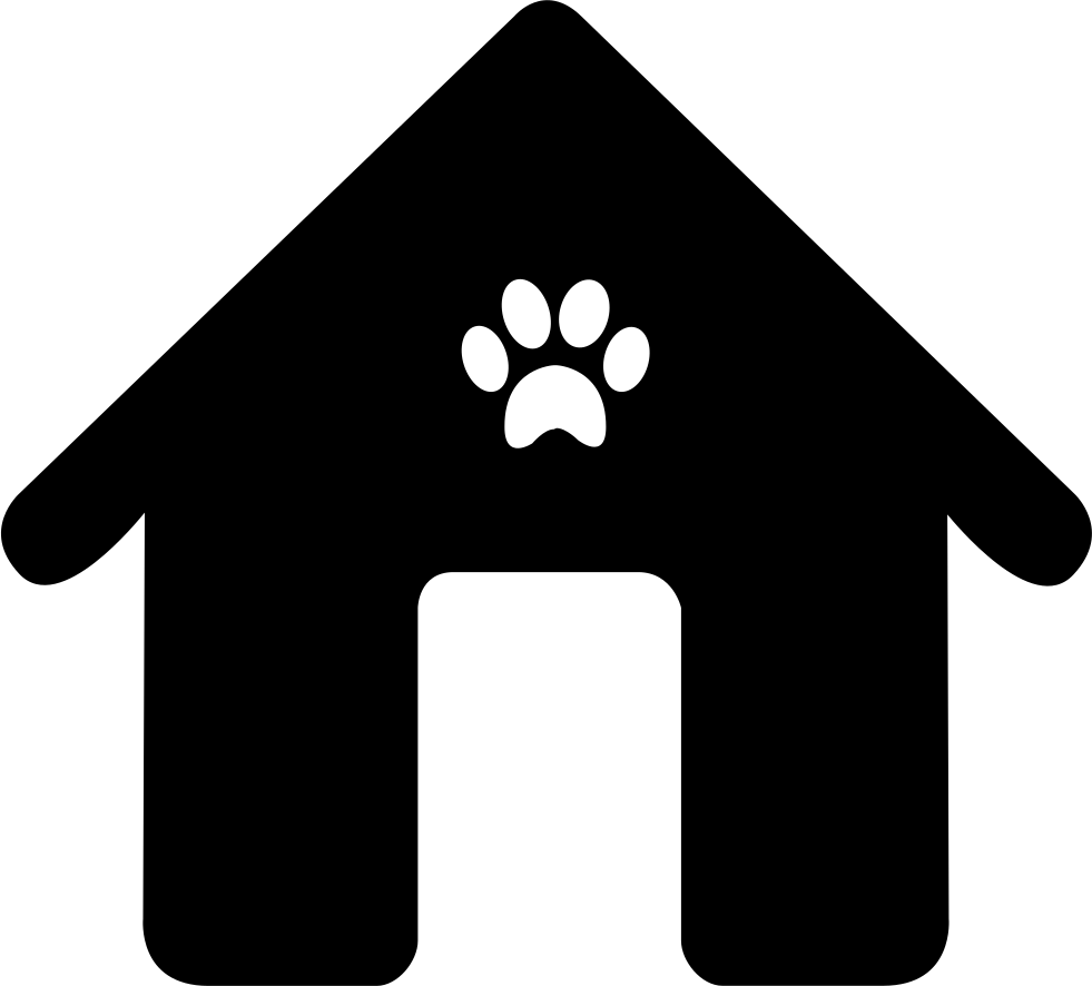 Dog house png. Svg icon free download