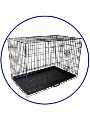 Dog in cage png. Medium sized rectangle rat