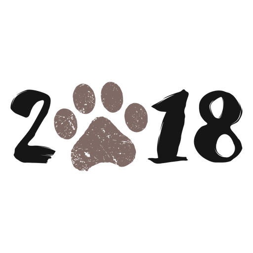 Dogs vector hipster. Dog year logo