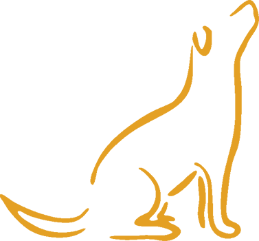 Dog logo png. Pro k in home