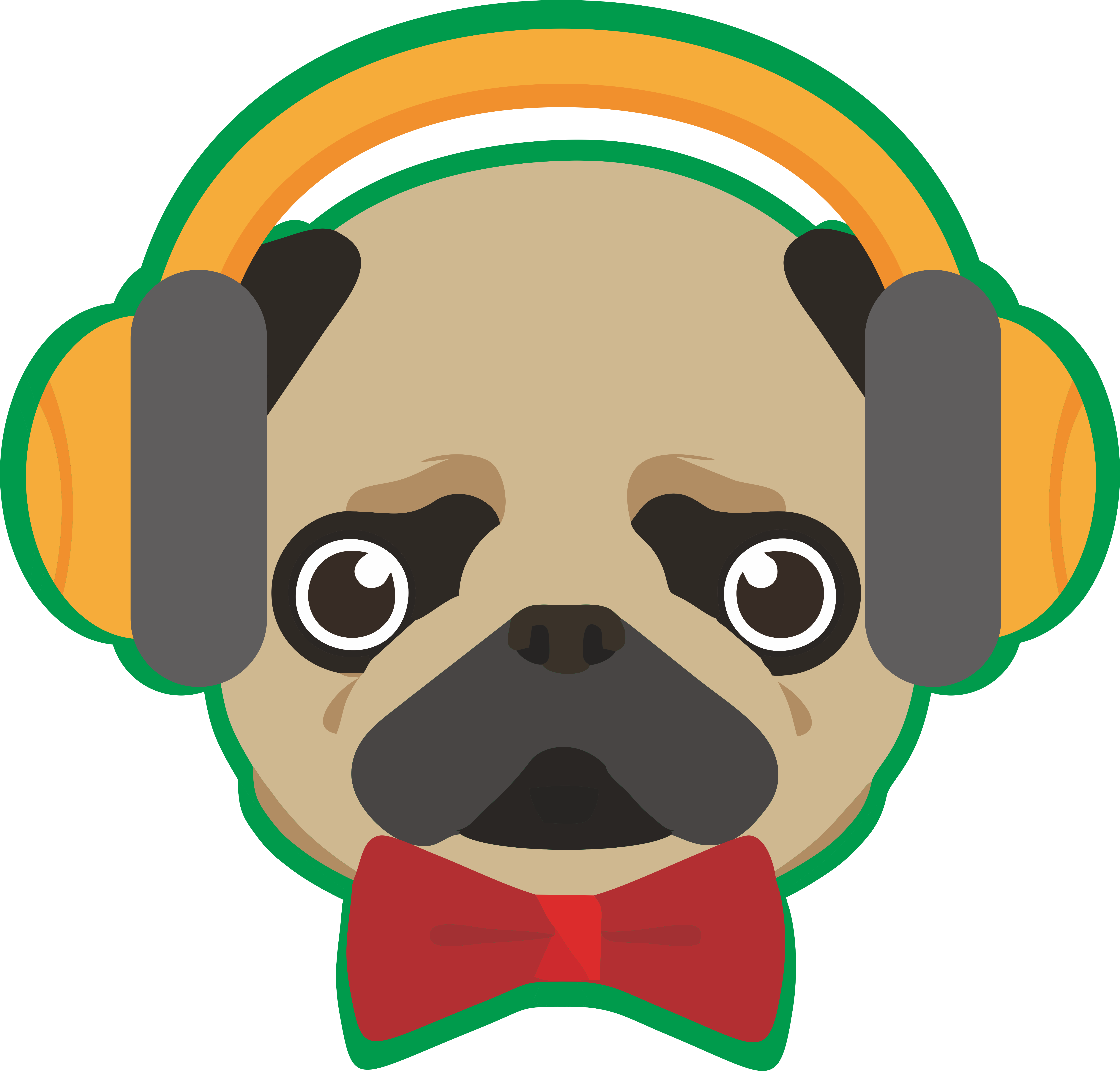 Dog nose png. Pug puppy breed clip