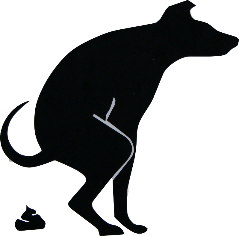 Dog shit png. Pooping silhouette at getdrawings