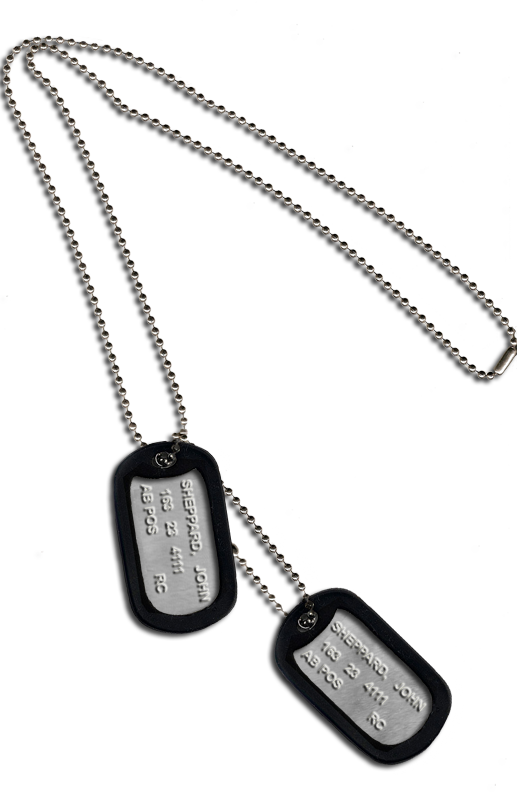 Dog tags png. Military photo