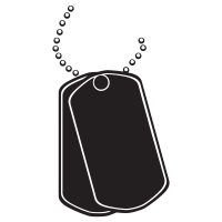 Dog tags png. Icons noun project