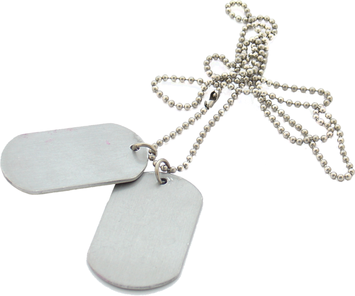 Dog tags png. Psd official psds