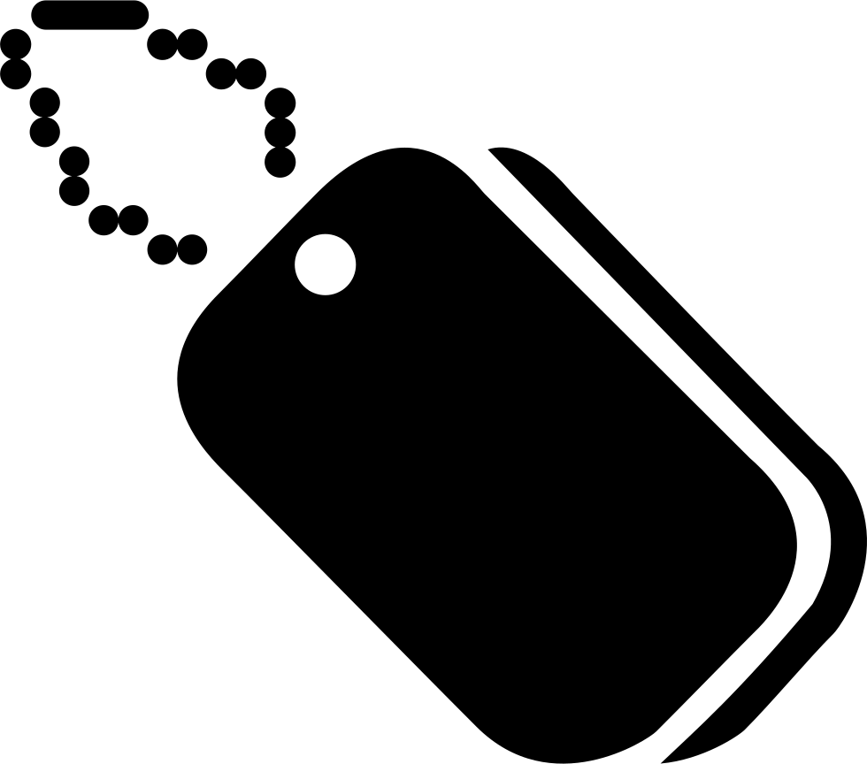 Dog tags png. Svg icon free download