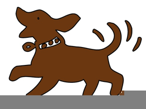 Dog tail. Clipart dogs wagging tails