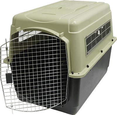Dog travel crate png. Vari kennel ultra traditional
